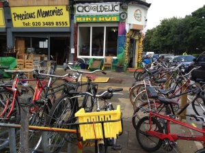 Cycooldelic's shop on Brixton Road which has now closed down