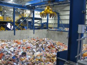 Recycling when it arrives at the MRF
