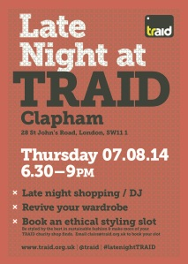 TRAID_event_postera3_clapham_red